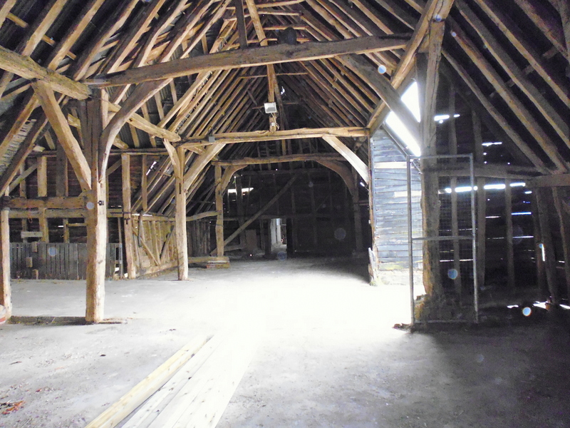 anne The Barley Barn before renovation